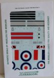 X48125 1/48 Gloster Javelin FAW Mk.9 Part 1 decals (5)